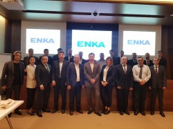 Visit of the Kazakhstan delegation to Istanbul continued at one of the world's largest contractors of ENKA